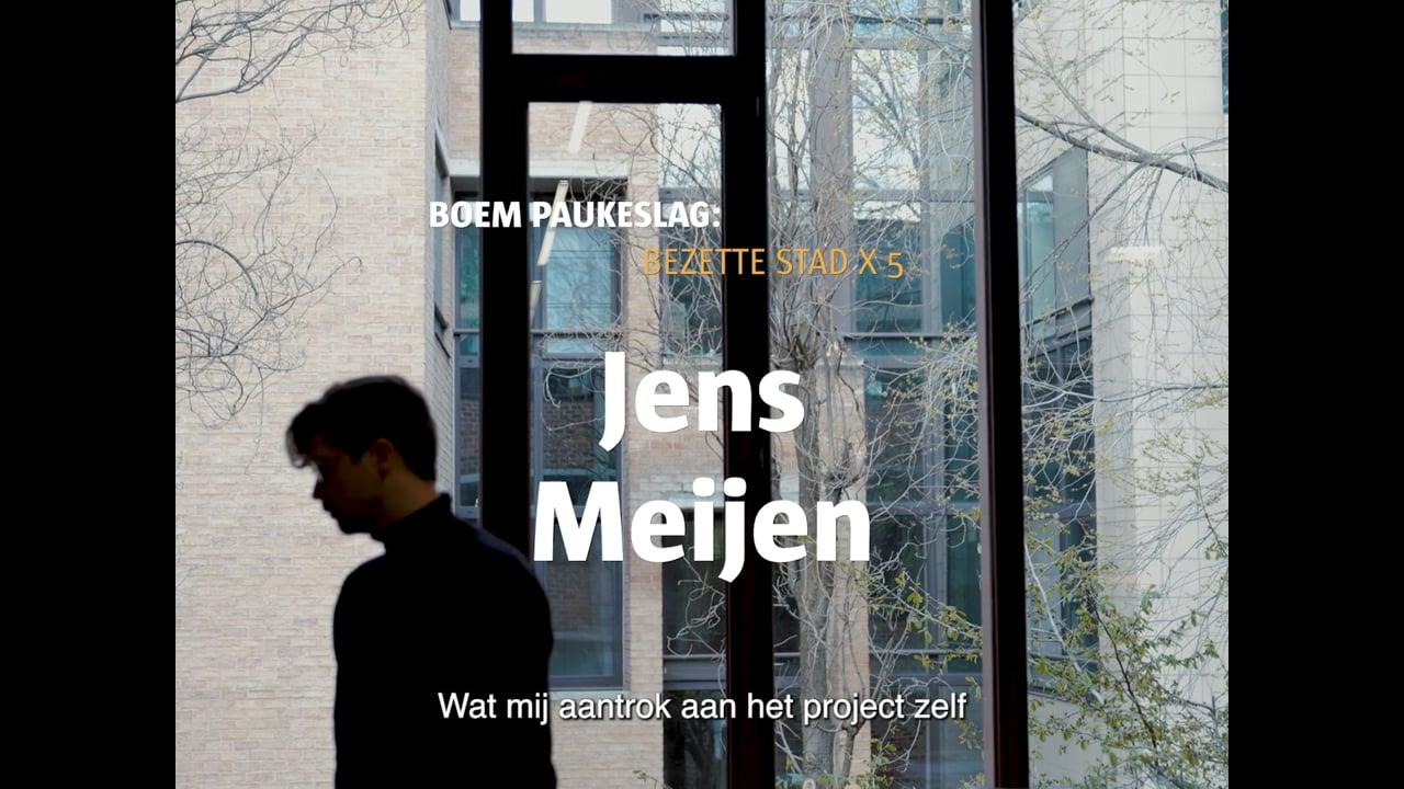 AG CIA - Letterenhuis - Bezette Stad x5 - Jens Meijen