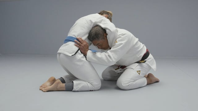 Refining your guillotine choke with Master Rickson