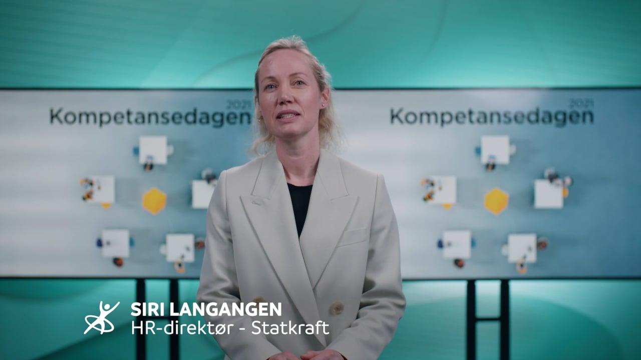Utdeling av HR Norges Kompetansepris 2021