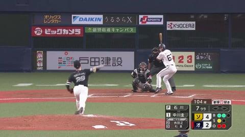 【7回裏】ホークス・石川 7回2失点の好投を見せる!! 2021/4/30 B-H