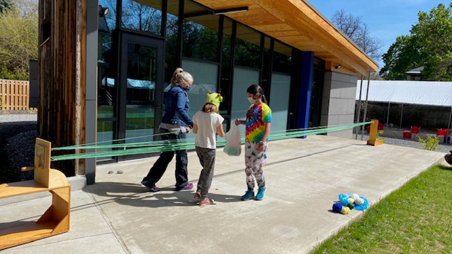 """Heartwood Annex: Making the """"Ribbon"""" for the Ribbon Cutting"""