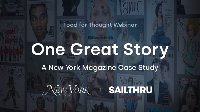 One Great Story: A New York Magazine Case Study thumbnail