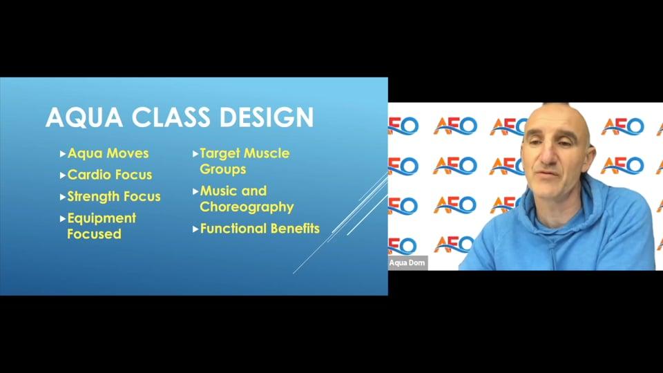 Aqua Class Design