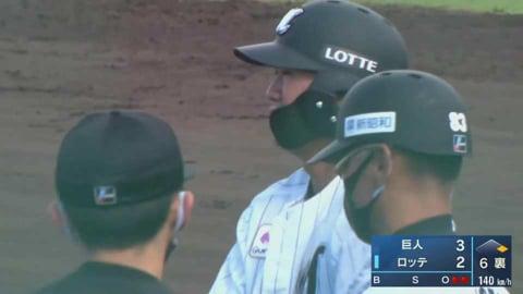 【ファーム】マリーンズ・松田 ライトへのタイムリーヒット!! 2021/5/2 M-G(ファーム)