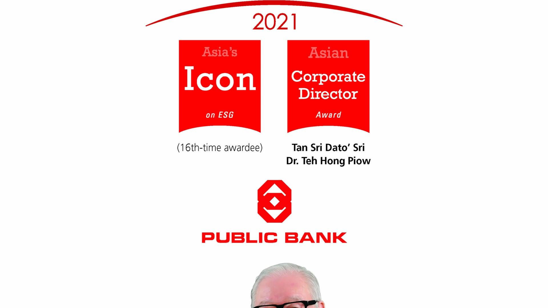 Public Bank - 16th Asian ESG Awardee 2021.mp4