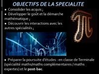 Spécialité Mathématiques