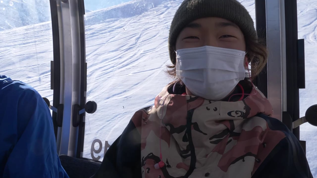 World Rookie Finals Snowboard: Snowboard Training