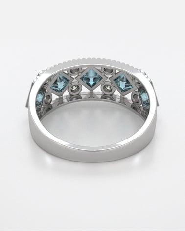 Video: Anelli Oro Tanzanite diamanti