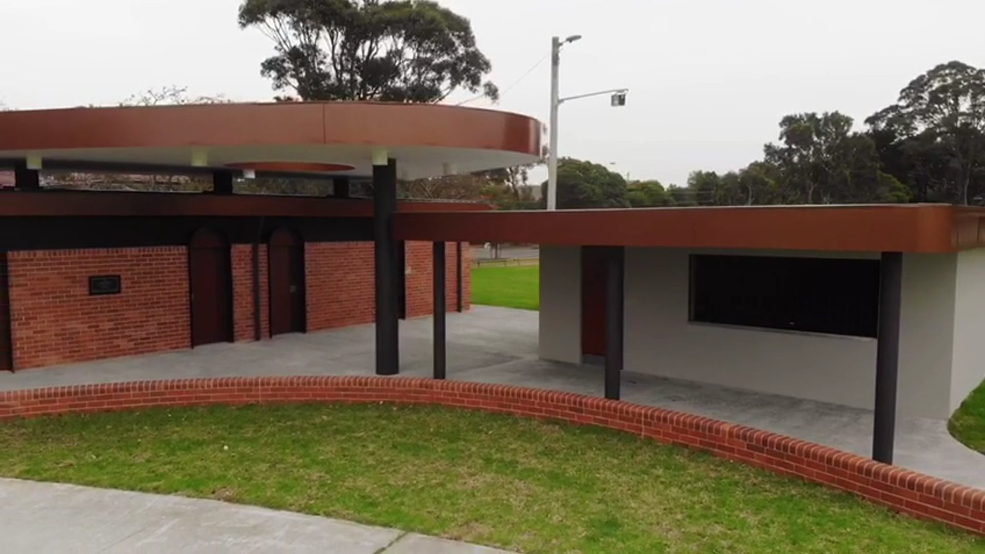 Rowland Park Amenities and Canteen by Hibernian Contracting