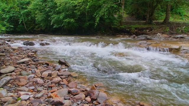 Bystrytsya River, Carpathian Mountains