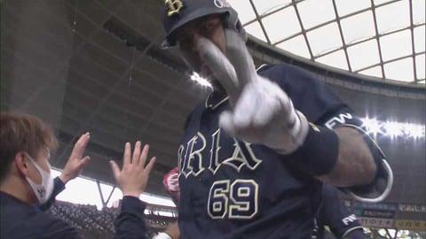 【8回表】帰ってきたバファローズ・ロメロ!! 今季第1号は同点2ランホームラン!! 2021/5/4 L-B