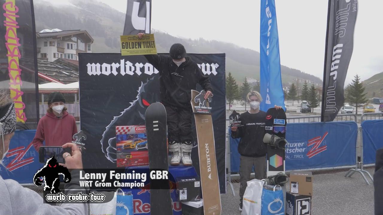 World Rookie Finals Snowboard Highlights