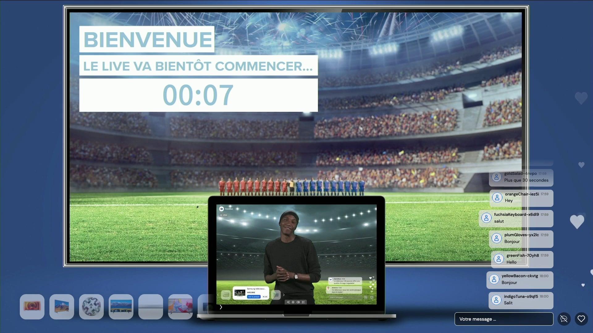 [Replay] Live Commerce au cœur de l'action - Carrefour - 4 mai 2021