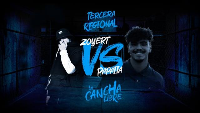 La Cancha Libre | Final | Zoyert vs Papaiia