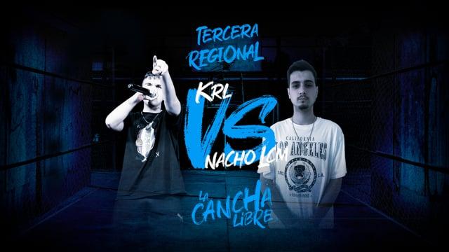 La Cancha Libre | Cuartos | Nacho LCM vs KRL