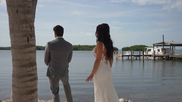 Courtney & Beau's - Key Largo Wedding at Coconut Pam Inn
