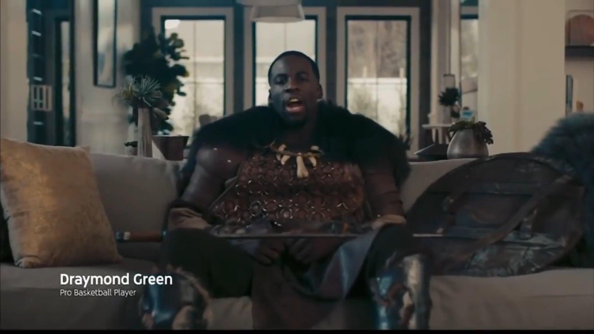 Draymond Green in YouTubeTV commercial.mp4