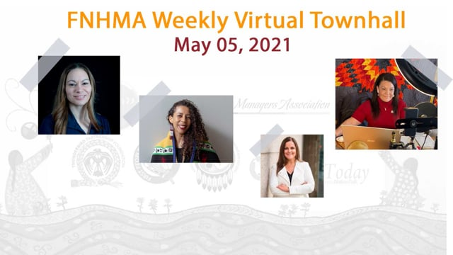 FNHMA Town Hall (ENG) May 5, 2021