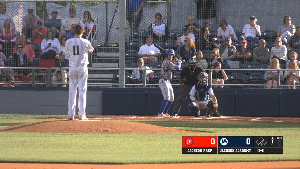 Varsity Baseball vs Jackson Prep (5A Semifinals GM 1 - 05-05-21)