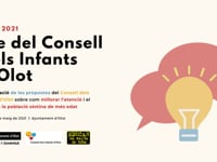 Ple del Consell dels Infants d'Olot 2021
