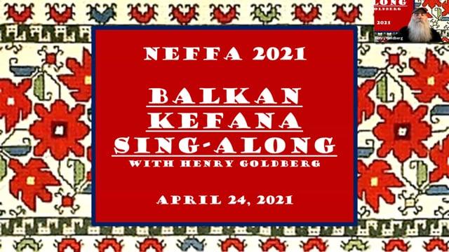 Balkan Kefana Sing-along 10 seconds