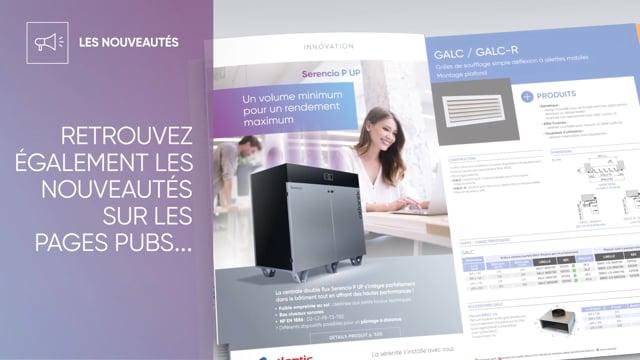 546466543 Nouveau catalogue ATLANTIC climatisation et ventilation