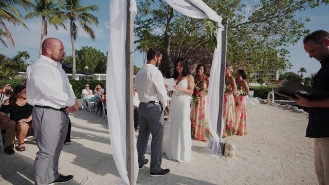 Courtney & Beau Wedding WITH LIVE SERENADES