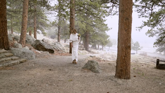 Susan + John Wedding Springtime Elopement Highlights - Estes Rocky Mountain National Park  CO_050521