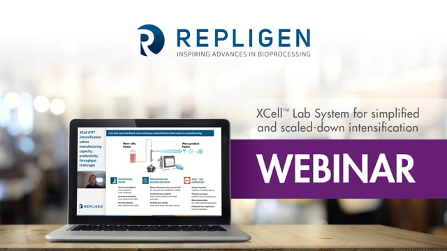 XCell™ Lab System for Simplified and Scaled-down Intensification