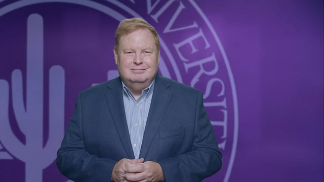 Button to play video: Dean's Message - College of Humanities and Social Sciences