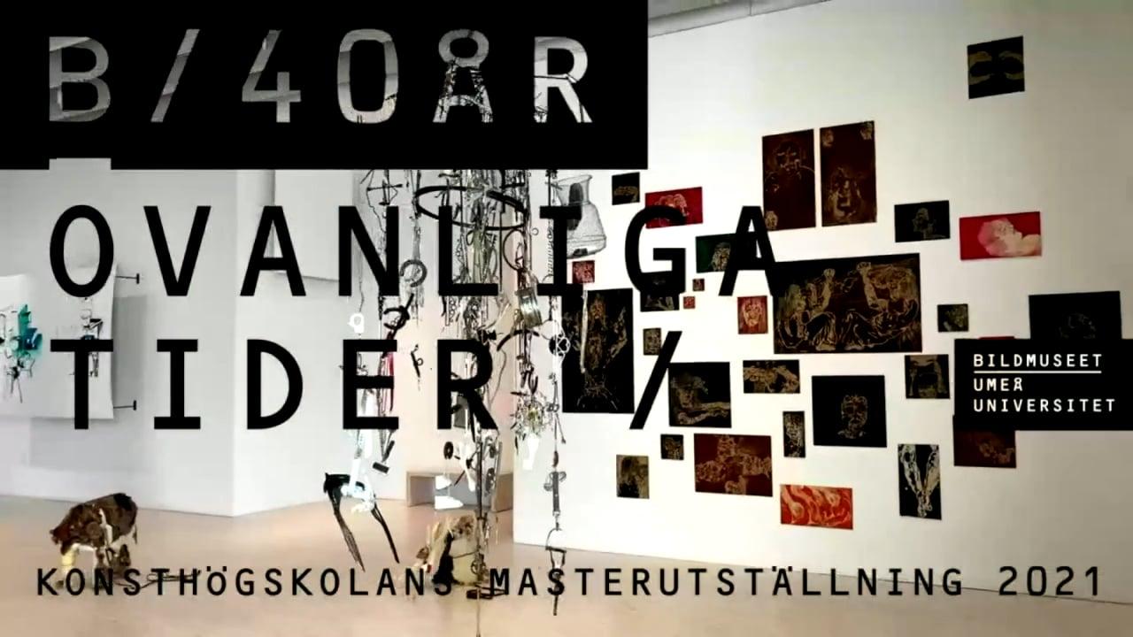 Film: Digital Opening / Umeå Academy of Fine Arts