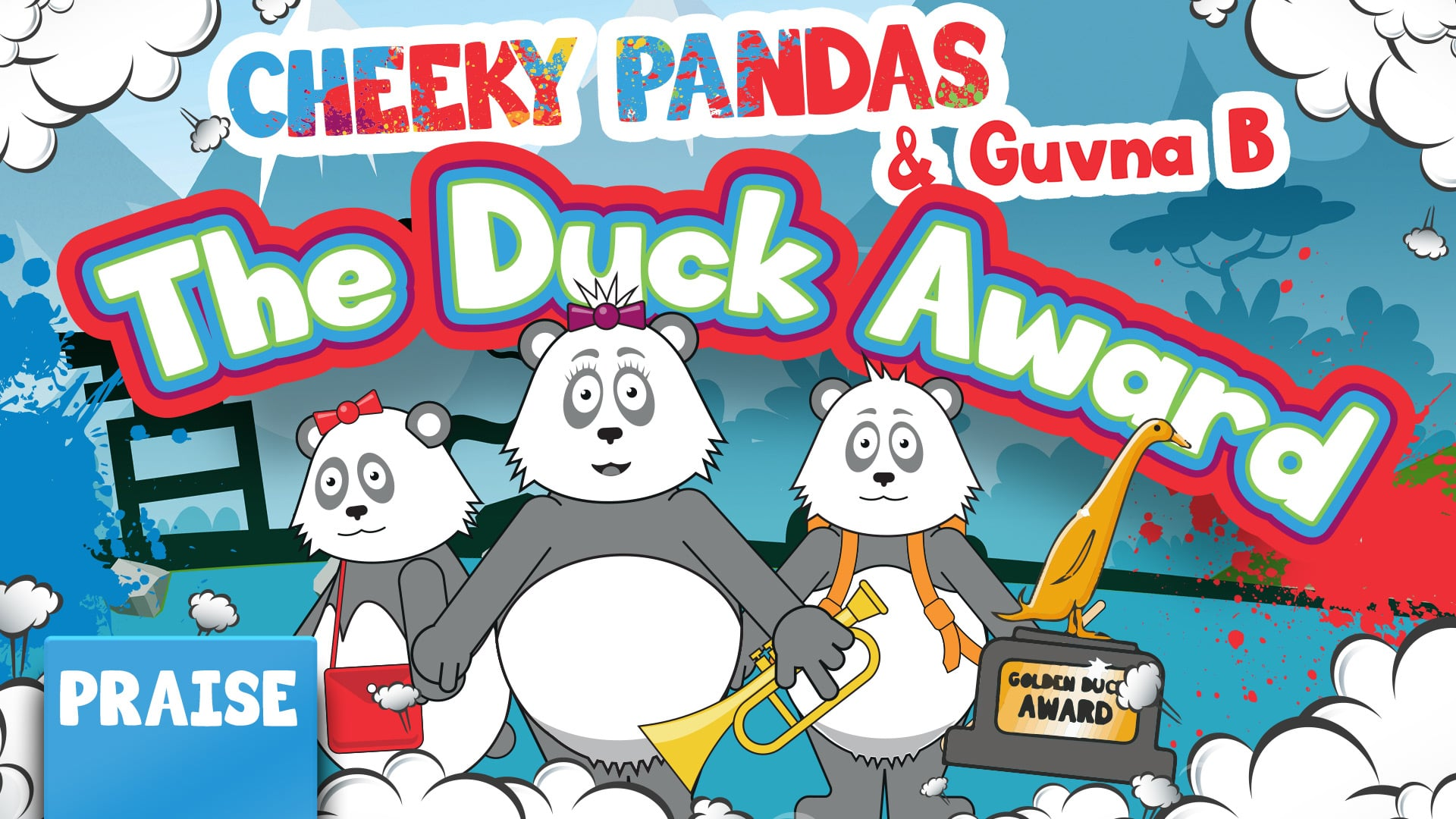 Day 2   The Duck Award with Guvna B (Praise)