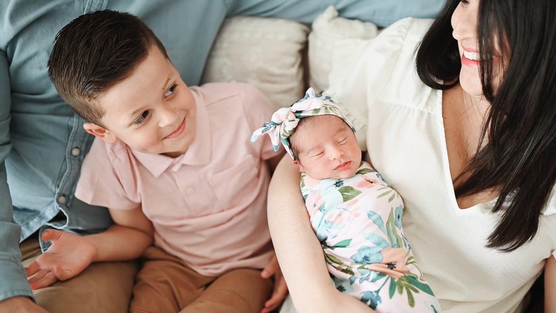 Vivian | 7 Days | Oklahoma Newborn Videographer