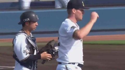 【ファーム】バファローズ・フェリペ 盗塁阻止で試合を締める!! 2021/5/9 B-C(ファーム)