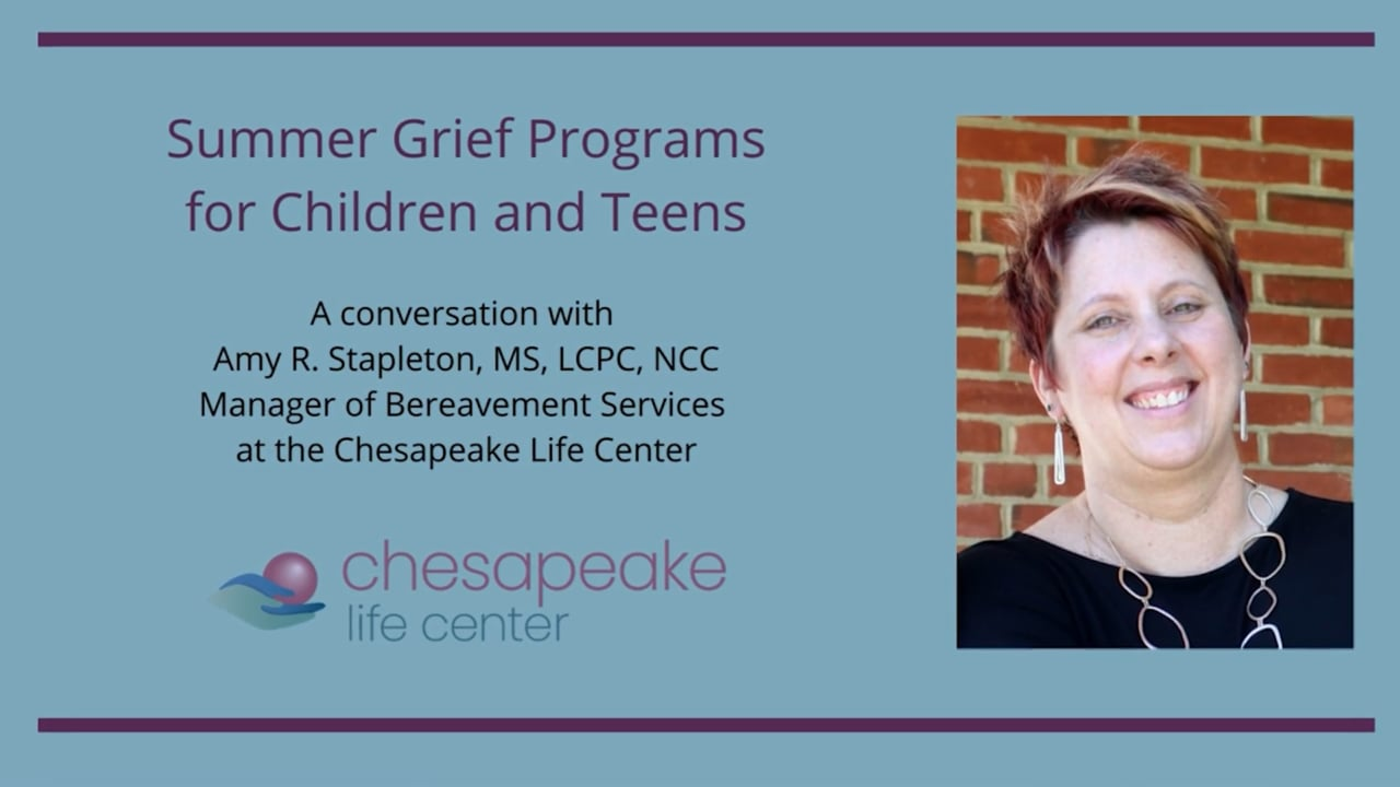 Summer Grief Programs for Kids and Teens