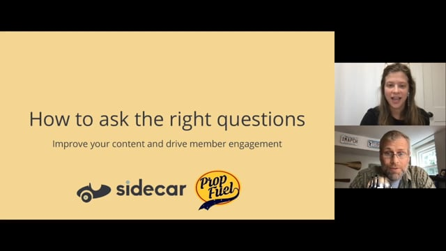 How to ask the right questions to improve content and drive member engagement