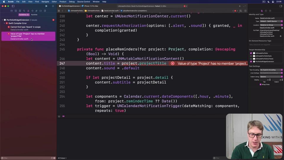 Creating a simple widget