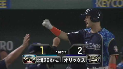 【1回裏】すぐさま反撃!! ファイターズ・杉谷 魂のソロホームラン!! 2021/5/11 F-B