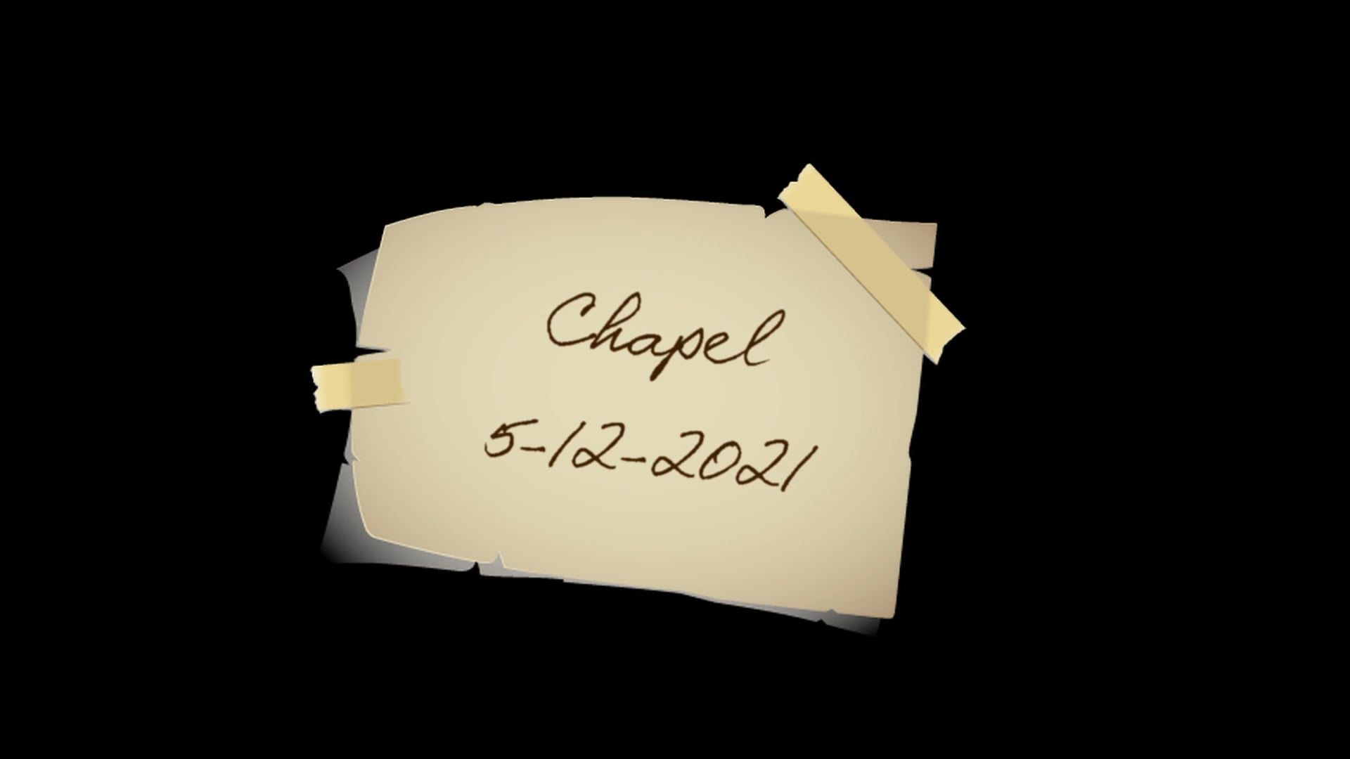 2021_05_12 Chapel Cahill