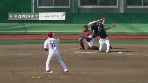 【ファーム】イーグルス・福井 2回を完璧に抑える好投!! 2021/5/12 E-S(ファーム)