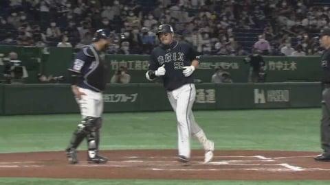 【8回表】バファローズ・T-岡田 逆方向へのソロホームランで反撃!! 2021/5/12 F-B