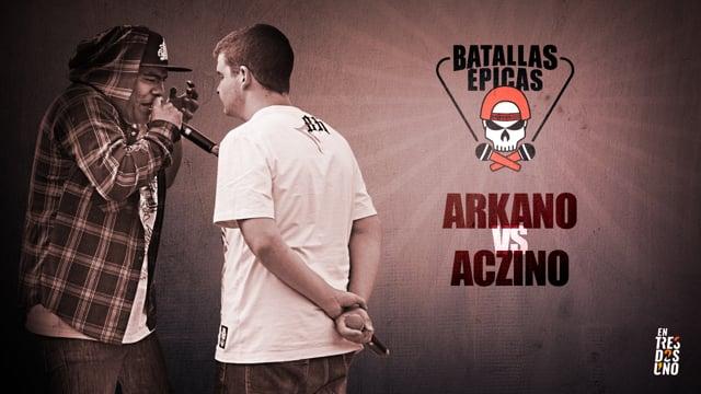 Batallas Épicas - Arkano vs Aczino