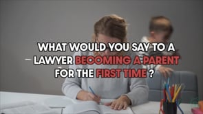 Tips for lawyers becoming first-time parents
