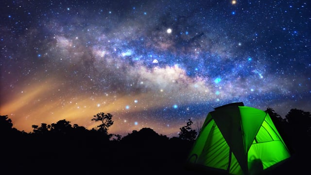 Sleeping Under the Stars - Part 1