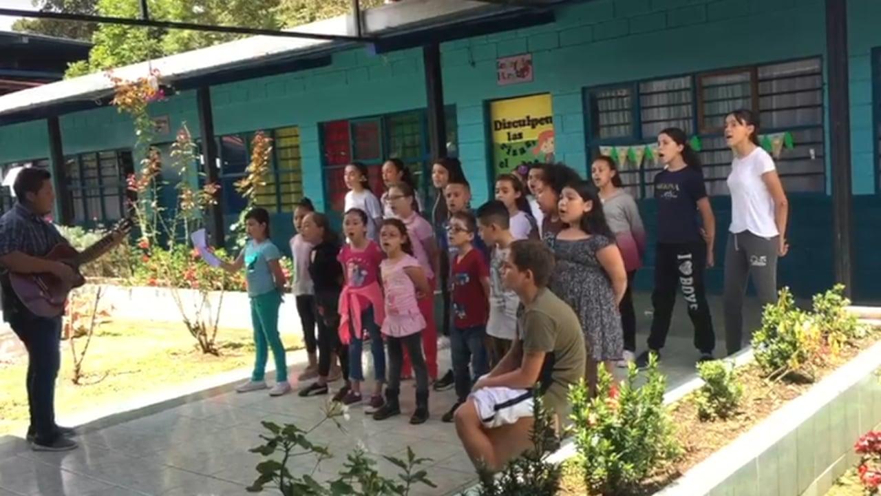 "ChildHope Choir Sings ""What a Wonderful World"""