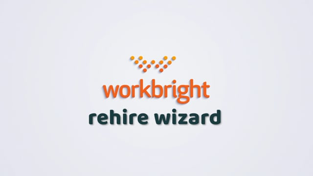 Reboarding Employees using the Rehire Wizard