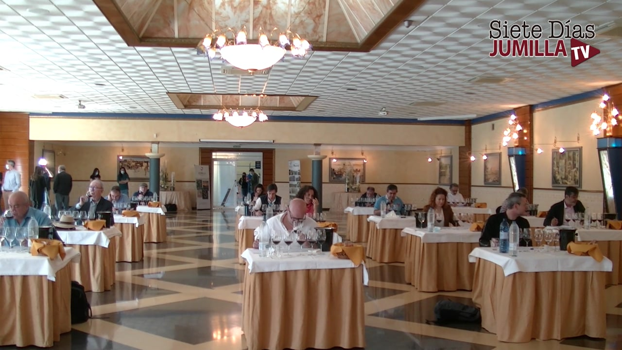 2ª Jornada de catas en el 27 Certamen de Calidad de Vinos de la DOP Jumilla.mp4