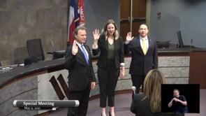 Council Members Sworn In