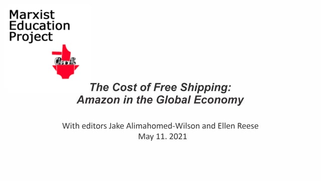 The Cost of Free Shipping: Amazon...