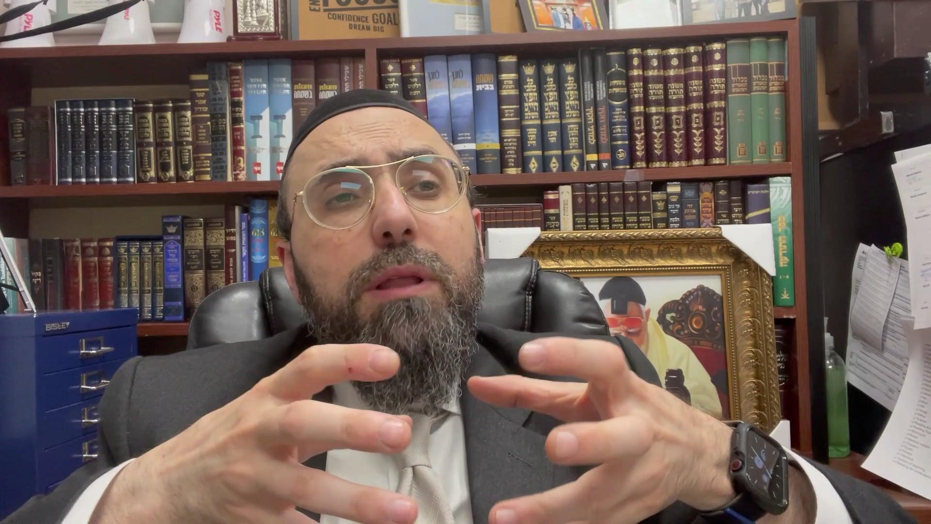 Rabbi Ben Mordechai: Chinuch in the Parasha - Parshat Bamidbar/Shavuot
